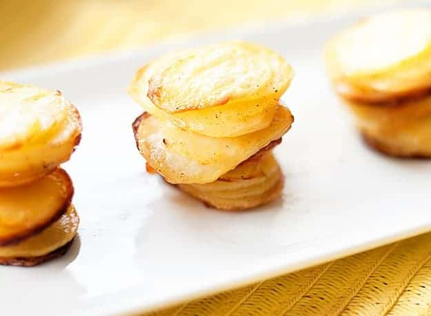 Mini pommes anna recipe the kiddos keep asking for!