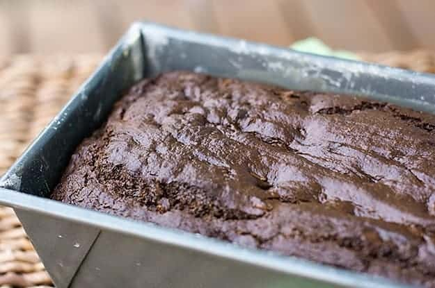 Chocolate bread smells amazing while it's cookin'!