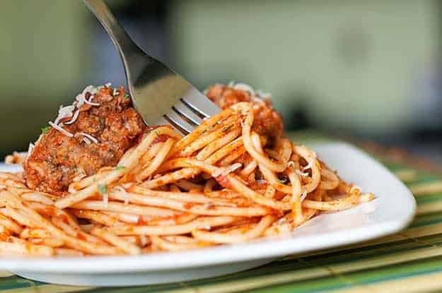 how to fix too much salt in spaghetti sauce