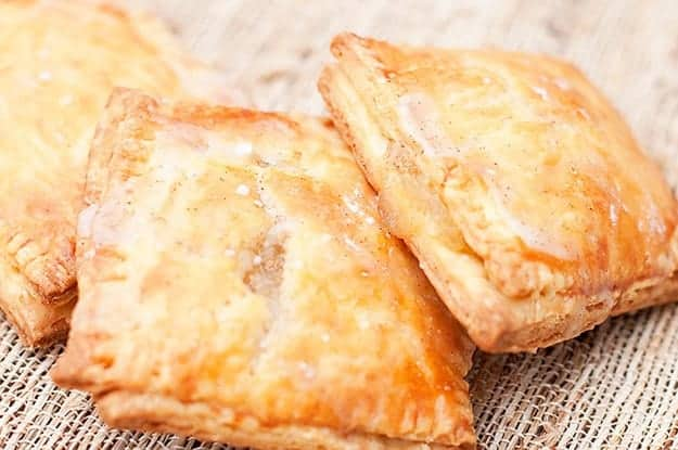 Perfect flaky crust on these homemade pop tarts!