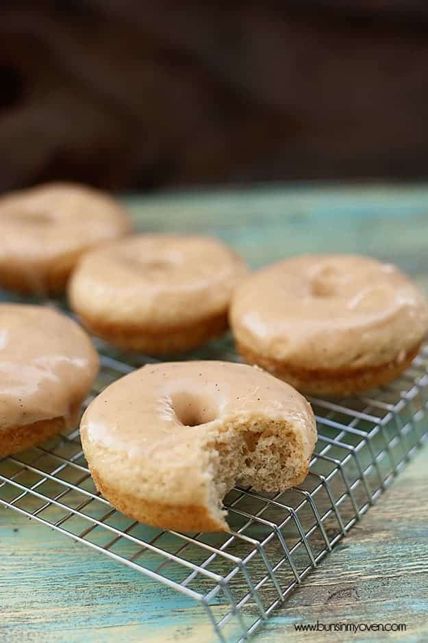 Browned Butter Glazed Cinnamon Donuts Buns In My Oven